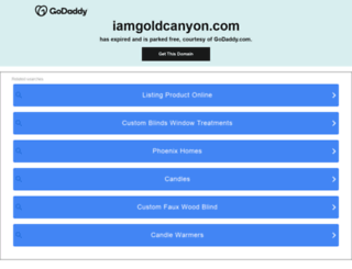 iamgoldcanyon.com screenshot