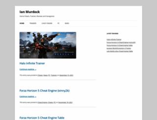 ianmurdock.com screenshot