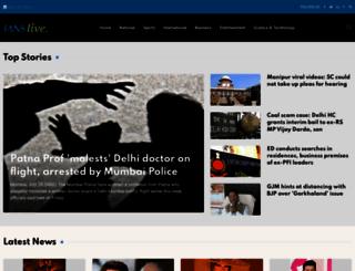 ianslive.in screenshot