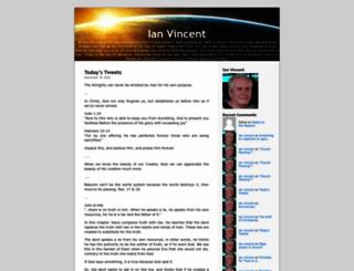 ianvincent.org screenshot