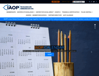 iaop.org screenshot