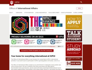 iapply.iupui.edu screenshot