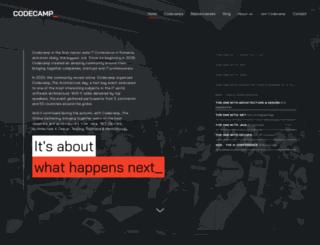 iasi.codecamp.ro screenshot