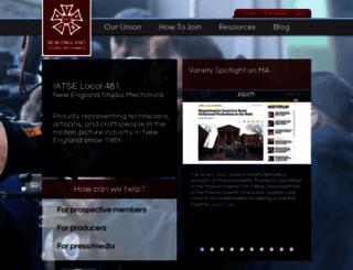 iatse481.com screenshot