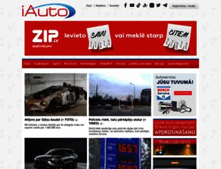 iauto.lv screenshot