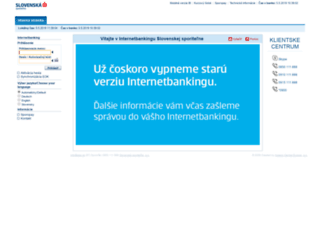 ib.slsp.sk screenshot