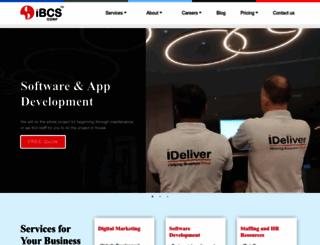 ibcscorp.com screenshot