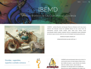 ibemd.org screenshot