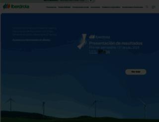 iberdrola.com screenshot