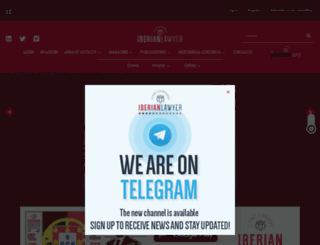 iberianlawyer.com screenshot