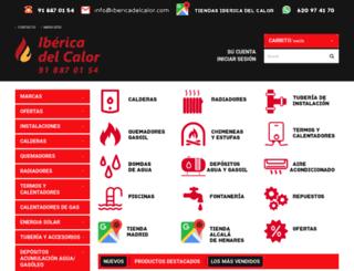 ibericadelcalor.com screenshot