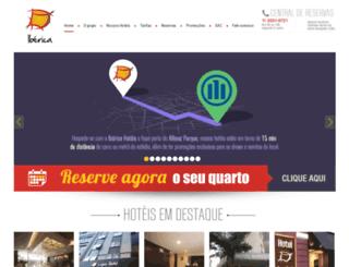 ibericahoteis.com.br screenshot