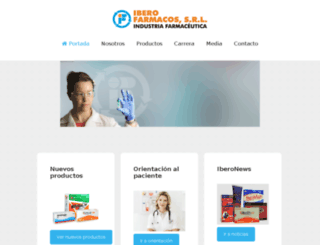 iberofarmacos.com.do screenshot