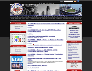 ibew6.org screenshot