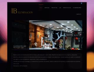 ibiluminacion.com screenshot
