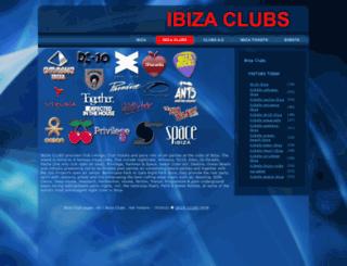 ibiza-clubs.net screenshot