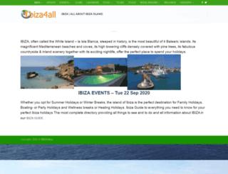 ibiza4all.org screenshot