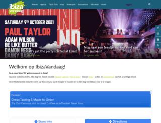 ibizavandaag.nl screenshot