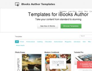 ibooksauthortemplates.com screenshot