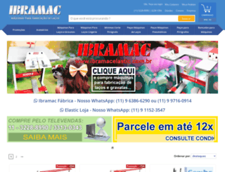 ibramacelastic.com.br screenshot