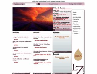 ibraromatologia.com.br screenshot