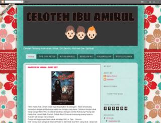 ibuamirulpunyeblog.blogspot.com screenshot