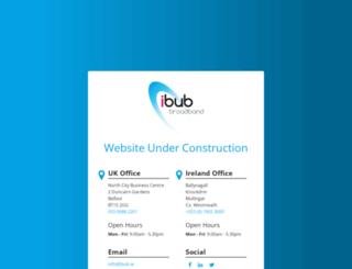ibub.co.uk screenshot