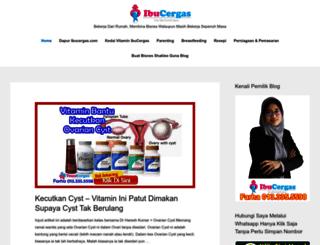 ibucergas.com screenshot