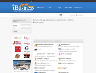 ibusiness.com.sg screenshot