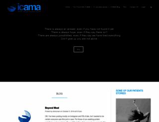 icama.org screenshot