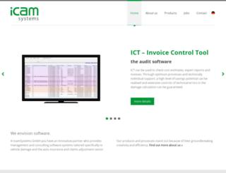 icamsystems.de screenshot