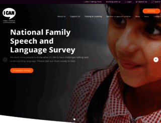 ican.org.uk screenshot
