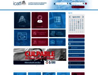 icatf.es screenshot