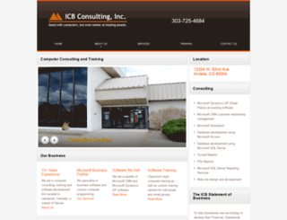 icbconsulting.com screenshot