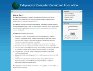icca.org screenshot