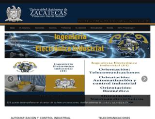 ice.uaz.edu.mx screenshot