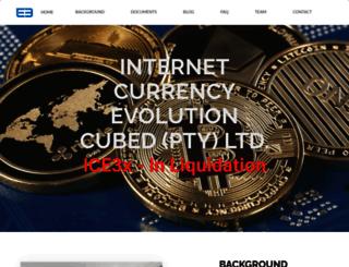 ice3x.co.za screenshot