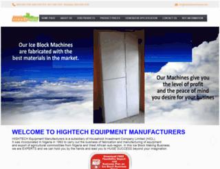 iceblockmachinesng.com screenshot