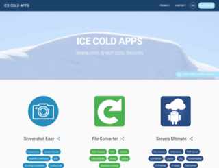 icecoldapps.com screenshot
