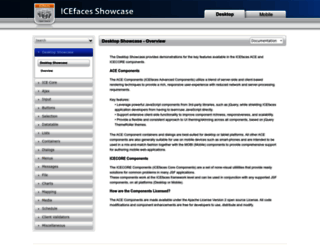 icefaces-showcase.icesoft.org screenshot