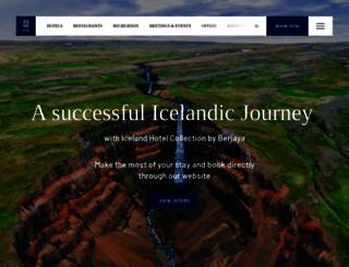 icelandairhotels.com screenshot