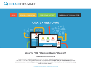 icelandforum.net screenshot