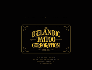 icelandtattoo.com screenshot