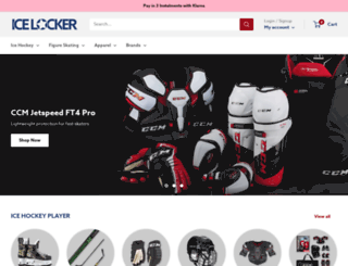 icelocker.co.uk screenshot