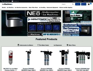 icemachinesplus.com screenshot