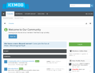 icemod.net screenshot