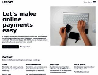 icepay.com screenshot