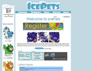 icepets.com screenshot