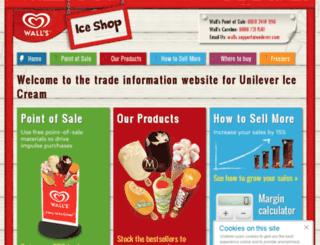 iceshop.co.uk screenshot