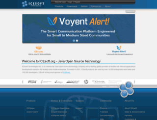icesoft.org screenshot